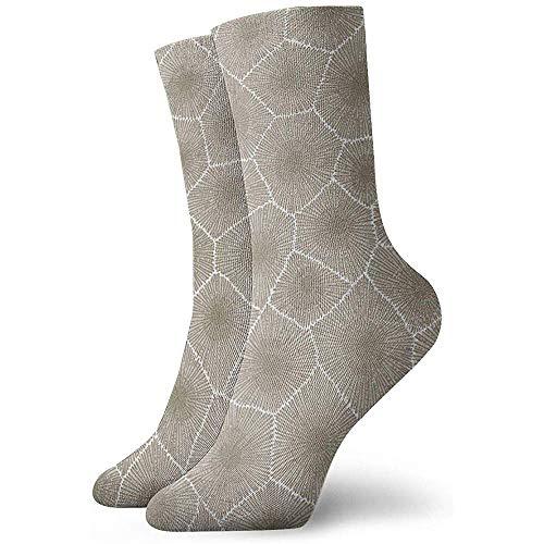 NA man en vrouw doornen kunst gedrukt grappige nieuwe nonchalante sokken
