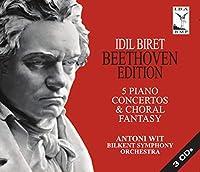 ベートーヴェン:ピアノ協奏曲全集(Beethoven -5 Piano Concertos & Choral Fantasy)[3CDs]
