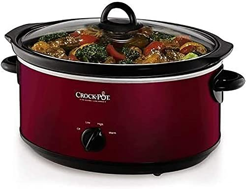 popular Crock-Pot new arrival lowest 7-qt. Slow Cooker (Red) online