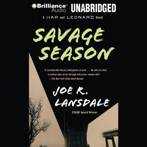 Savage Season audiobook cover art