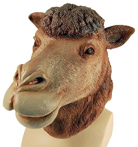 Bristol Novelty BM303 Camel Overhead Mask, One Size