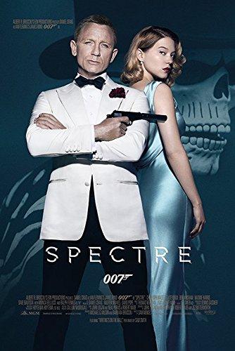 James Bond 007 - Spectre - One Sheet - Filmposter Kino Movie 007 Daniel Craig - 61x91,5 cm + 1 Ü-Poster der Grösse 61x91,5cm
