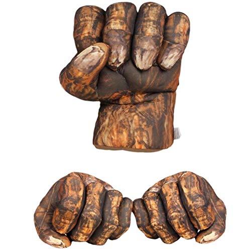 Blaward Kinder Boxhandschuhe Plüsch Handschuhe Hände Fäuste große weiche Plüsch Handschuhe Kostüm Cosplay für Geburtstag Weihnachten