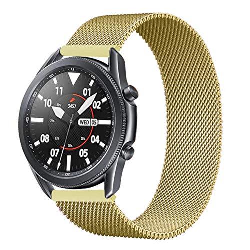 Para Samsung Galaxy watch 3 45mm 41mm / Active 2 46mm / 42mm Gear S3 Frontier 20mm 22mm pulsera Huawei GT / 2 / 2e band