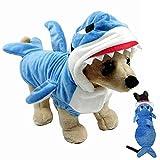 Dog Costume, Gimilife Dog Halloween Costumes Funny Dog Cat Shark...