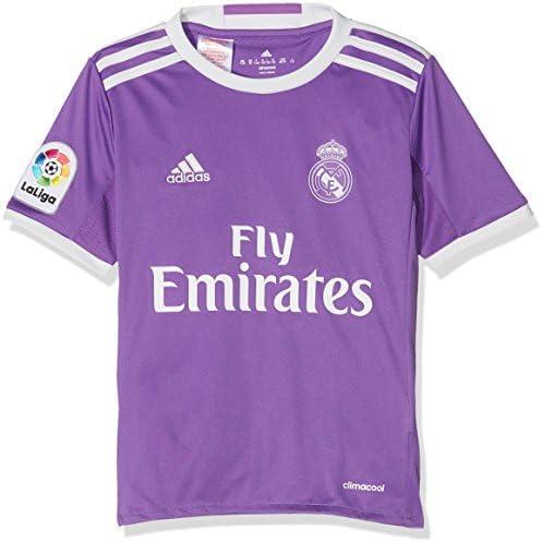 adidas Real Madrid A JSY Y Camiseta 2ª Equipación Real Madrid CF 2015/16 Niños