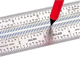 Incra rule0615,24cm Incra Rules marcado regla, RULE12