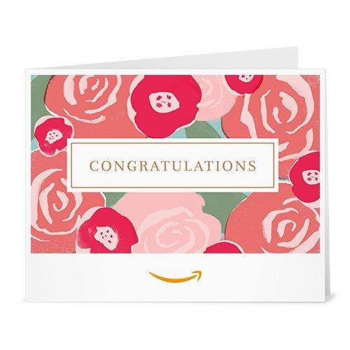 Amazon Gift Card - Print - Congratulations Bouquet