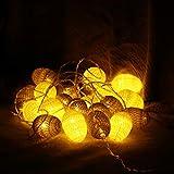 LEDMOMO 3,2 M 20 LED Natale String Egg Lights Party Charistmas Giardino di casa Decorazion...
