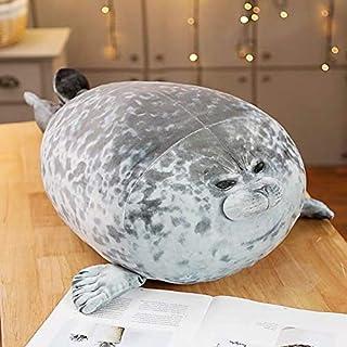 20-80 cm creatieve schattige zeeleeuw knuffels zachte afdichting pluche gevulde slaap poppen gesimuleerde 3D nieuwigheid k...