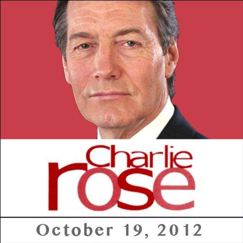 Charlie Rose: J. K. Rowling, October 19, 2012 audiobook cover art