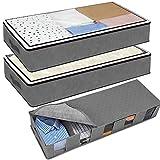 AYUQI Cajas Almacenaje Ropa,3 Piezas Bolsas Almacenaje Ropacon Compartimiento Gran Capacidad Bajo la...