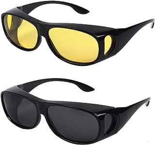 8d7a49ff2c HD Night Day Vision - anteojos de sol con lentes polarizadas para hombre y  mujer