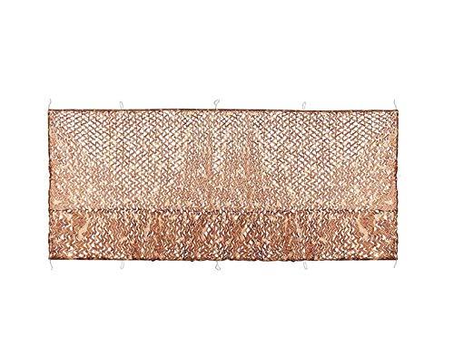 'N/A' Woodland Shooting Camuflaje Red Cubierta de Caza Camuflaje toldo de Red persianas para Acampar al Aire Libre decoración 6 × 10M(Size:4 * 10M(13.1 * 32.8ft))