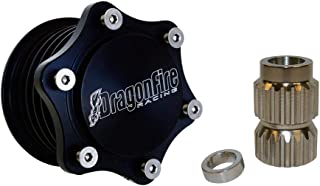 Dragonfire Racing Gen2 Quick-Release Steering Wheel Hub - Fits: Polaris RANGER RZR XP 4 1000 2014-2019