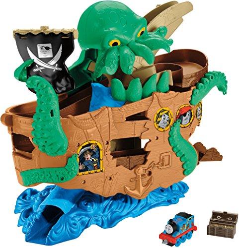 Thomas & Friends- T&F Adventures Sea Monster Pirate (Mattel DVT14)