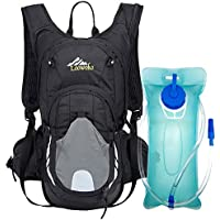 Loowoko 20L Hydration Riding Backpack with 2L Water Bladder