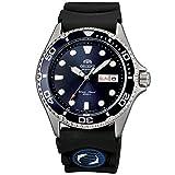Orient Herren Analog Automatik Uhr mit Gummi Armband FAA02008D9