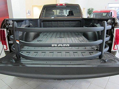 Dodge Ram Black Aluminum Tailgate Bed...