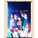 Scroll Poster Hd Picture Nagi No Asukara Home Wall Decor Animation Peripheral Comic Exhibition Fans Gift 40x60CM/15.75x23.62inch
