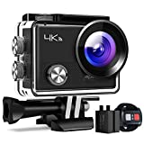 APEMAN Action Cam 4K WiFi Camera 16MP Ultra Full HD Unterwasser Kamera Helmkamera Wasserdicht mit...