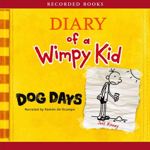 Diary of a Wimpy Kid: Dog Days audiobook cover art