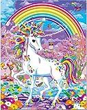DQGZYF Unicornio DIY Prensa Digital Herramienta de Pintura para Adultos Set Acrílico Niño Hecho a Mano Pintura al óleo Lino Muebles para el hogar Obra 40 * 50 cm