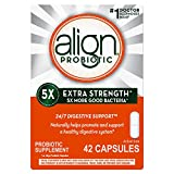 Align Extra Strength Probiotic, Probiotic Supplement for Digestive Health in Men and Women, 42 Capsules, #1 Doctor Recommended Probiotics Brand