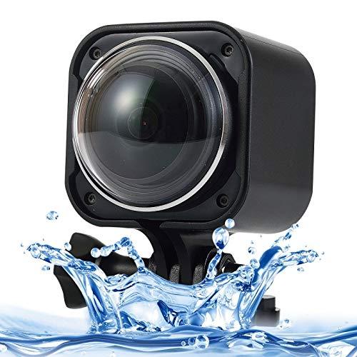 QIA Schermo HD Videocamera 220 ° X360 ° Panorama Sport Action Camera con Polso indossabile 2.4G Telecomando Wireless, Supporto Micro SD Card 32GB, profondità Resistente all'Acqua: 10M