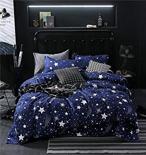 NKJSANFOI Printed Plant leaf Duvet Cover King size set Brief Quilt Covers sets Bed Linen leaves Single Double Queen Bedclothes kids