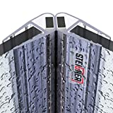 STEIGNER Magnetduschdichtung SET, 201cm, Glasstärke 6/7/ 8mm, Ersatzdichtung für 90 Grad Duschtür, UKM04, 2 Stück