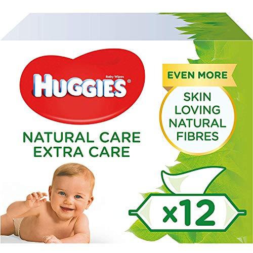 Huggies Natural Care Extra Care - Toallitas para bebé