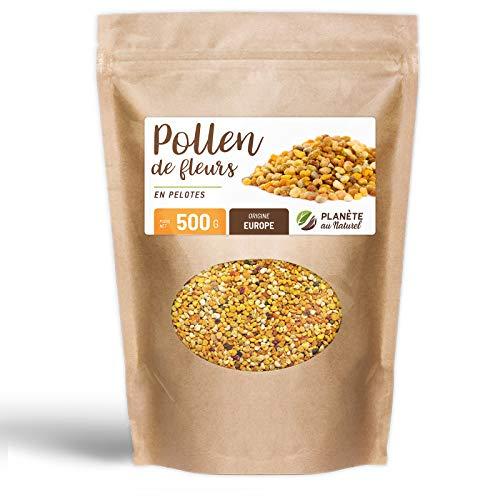 Pollen de fleurs en pelote - 500 g - Origine Europe - Super aliment - Planète au naturel