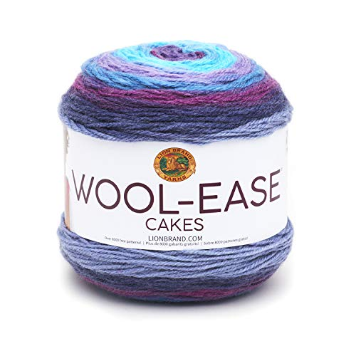 Lion Brand Yarn Wool-Ease Cakes Yarn, One skein, Hades