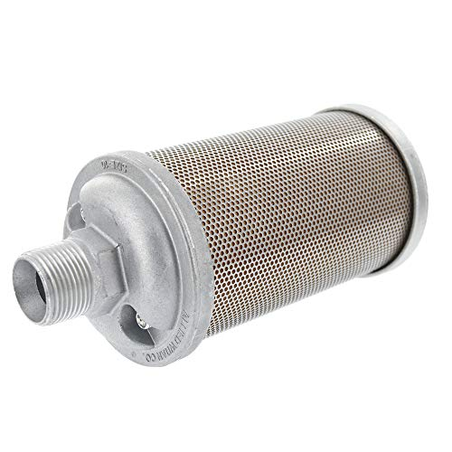 Industrial Service Solutions Aftermarket Alwitco M10 Atomuffler Air Exhaust Muffler | 1' NPT Male, 125 PSI | Replacement Part | for Compressed Air Equipment and Systems