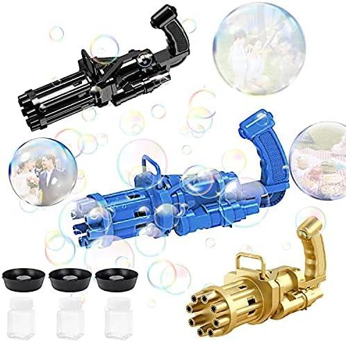 Gatling Bubble Selling Machine Gun 2021 Electri Newest Manufacturer direct delivery Holes ABtakkat 8