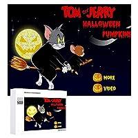 Tom And Jerry トムとジェリー ジグソーパズル 1000ピース diy 絵画 学生 子供 大人 Jigsaw Puzzle 木製パズル 溢れる想い おもちゃ 幼児 アニメ 漫画 壁飾り 入園祝い 新年 ギフト 誕生日 クリスマス プレゼント 贈り物