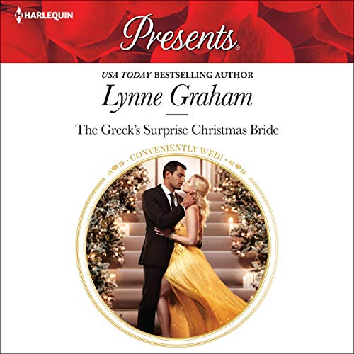 The Greek's Surprise Christmas Bride cover art