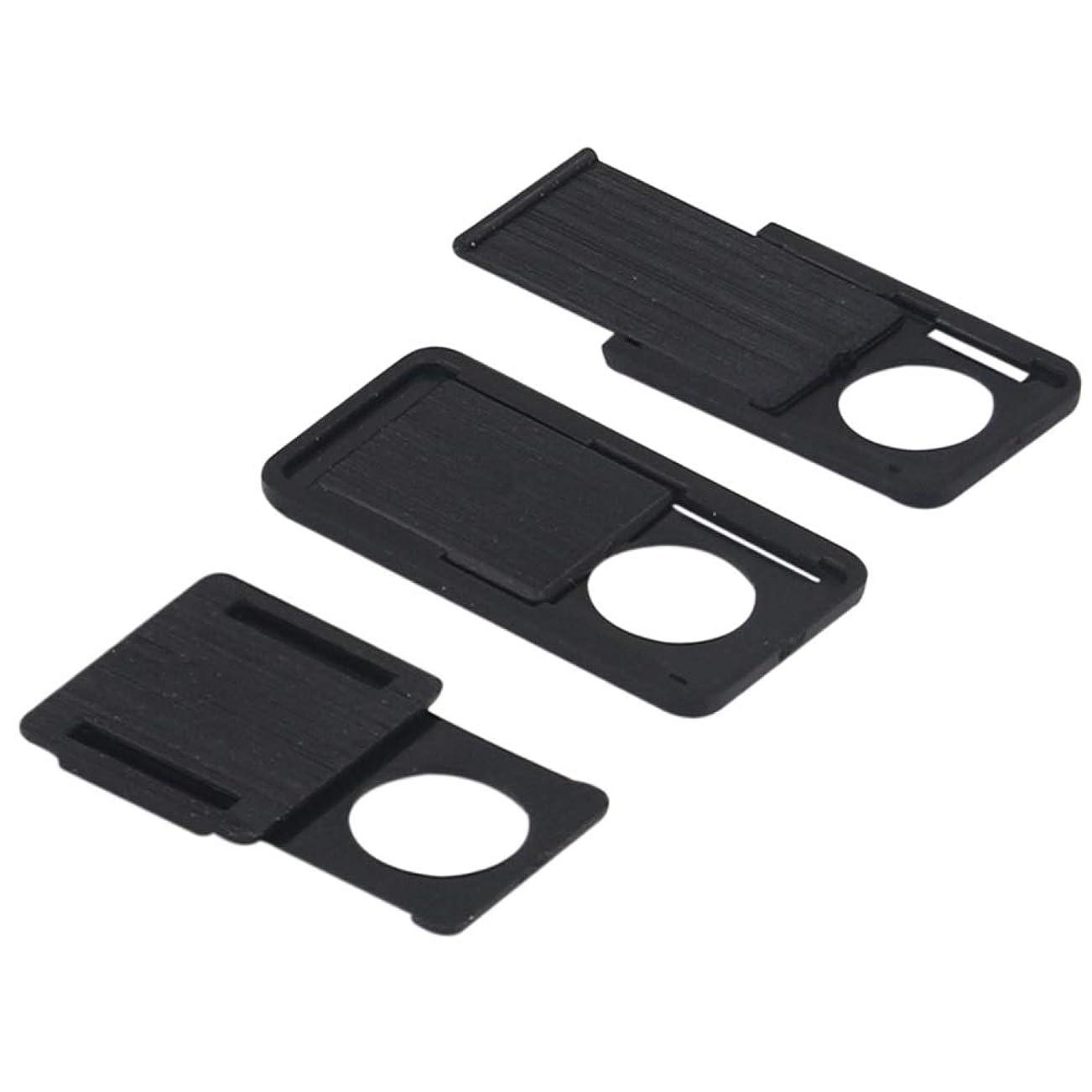 トーク許される職人A-Focus ウェブカメラ カバー Webcam Cover プライバシー保護カバー 盗撮防止カバー 超薄型 PC スマホ タブレット ラップトップ等のカメラに対応 SML3サイズ3枚セット