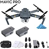 DJI Mavic Pro with Controller & 2 Batteries