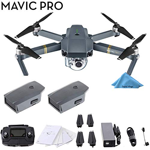DJI Mavic Pro 4K Quadcopter with Remote...