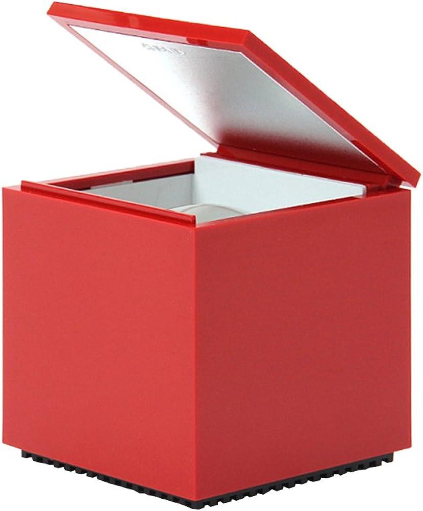 Cini & nils, lampada tavolo cuboluce rosso 137_ROSSO