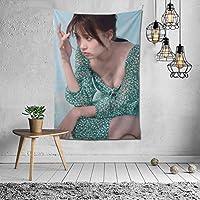 タペストリー 壁掛け 新條由芽/しんじょうゆめ、Shinjo Yume 壁飾り 家 リビングルーム ベッドルーム 部屋 飾り 装飾布 ホームデコレーション 多機能人気 おしゃれ飾り152X102cm