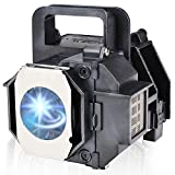 ELPLP49/ V13H010L49 Replacement Projector Lamp Bulb with Housing for Epson Powerlite Home Cinema 8345 8350 8100 7100 8700UB 7500UB 8500ub 6100 6500ub H419a H373a H419a Eh-th5500 EH-TW2800 H291A H291B
