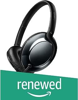 (Renewed) Philips Flite SHL4805DC/00 Headphones (Black)