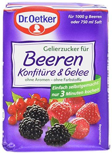 Dr. Oetker Gelierzucker für Beeren Konfitüre & Gelee, 7er Pack (7 x 500 g)