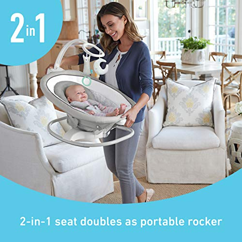 512gYCYy0cL The Best Battery Operated Baby Swings in 2021 Reviews