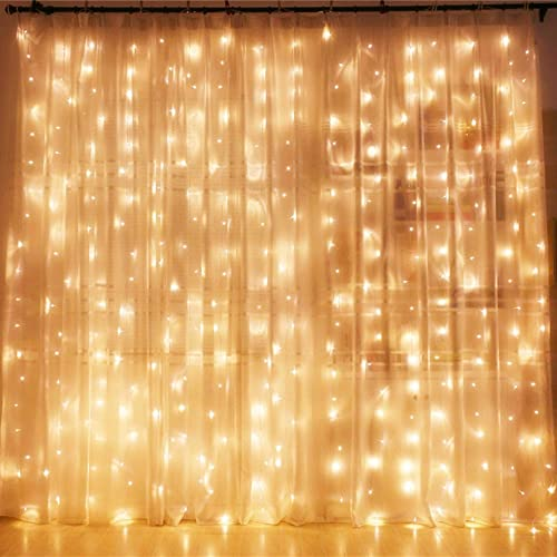 Twinkle Star 300 LED Window Curtain String