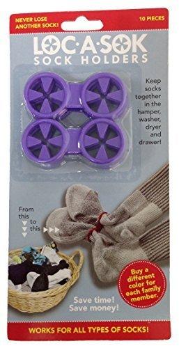 Loc A Sok Sock Locks (Purple) by SockLocks