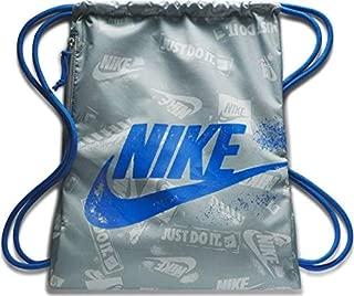 Nike Unisex-Adult Gym Sack, Grey/Game Royal - NKBA6011